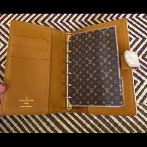 Authentic Louis Vuitton Planner Agenda PM